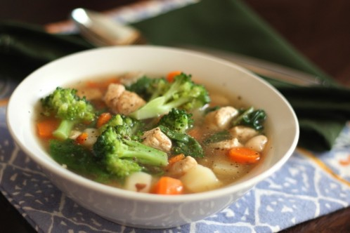 Recipe For Chicken Veggie Soup Ii