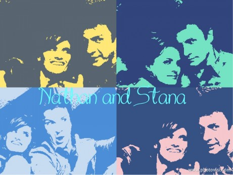Stana And Nathan Nathan Fillion And Stana Katic And Nathan Fillion