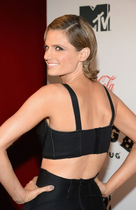 Stana Katic At Cbgb Premiere In New York