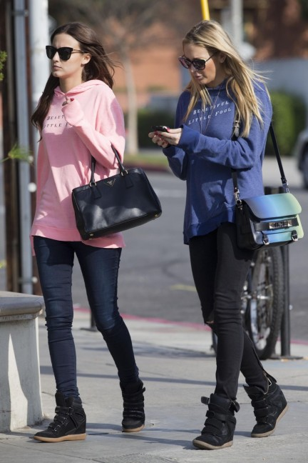 Stephanie Pratt And Lucy Watson Out And About In Santa Monica