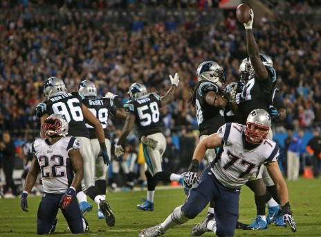 Game Stevan Ridley Has Critical Fumble In The Nd Quarter As Pats Are Deep In Carolina Territory