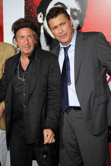 Al Pacino And Steven Bauer In Scarface Large Picture