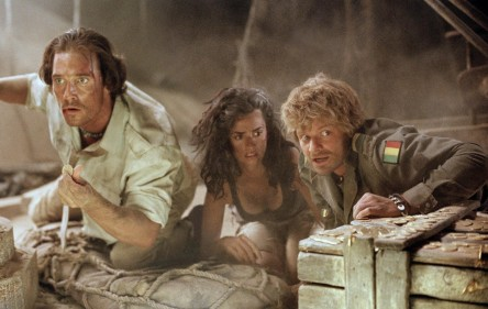 Still Of Matthew Mcconaughey Steve Zahn And Pen Lope Cruz In Sahara Large Picture