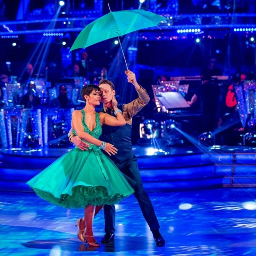 Frankie Bridge Kevin Strictly Come Dancing Waltz Dance