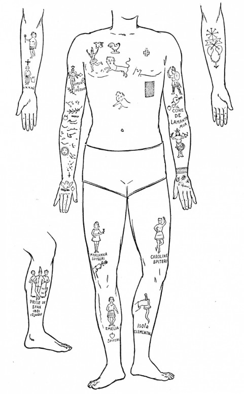 Psm Tattoos In The Th Century