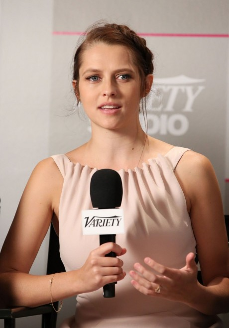 Teresa Palmer At Variety Studio At The Toronto Film Festival
