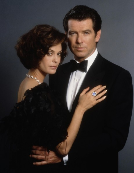 Still Of Pierce Brosnan And Teri Hatcher In Tomorrow Never Dies Large Picture Tomorrow Never Dies