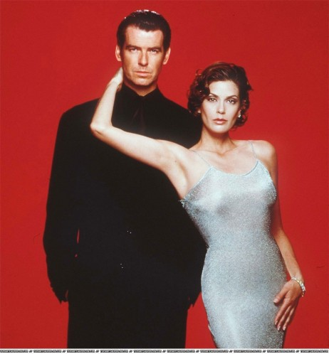 Tomorrow Never Dies Promotional Pictures Teri Hatcher Tomorrow Never Dies