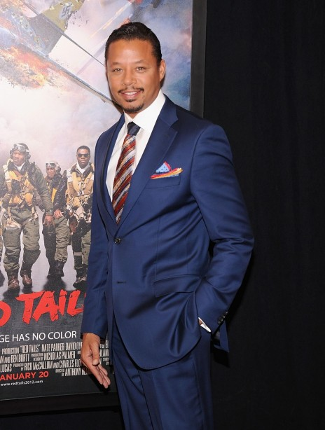 Terrence Howard At Event Of Red Tails