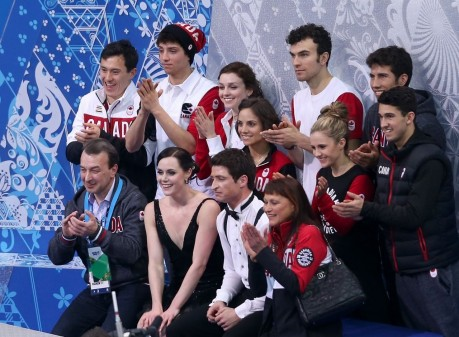 Tessa Virtue Sochi Winter Olympics Team Ice Dance Short Dance Tessa Allen