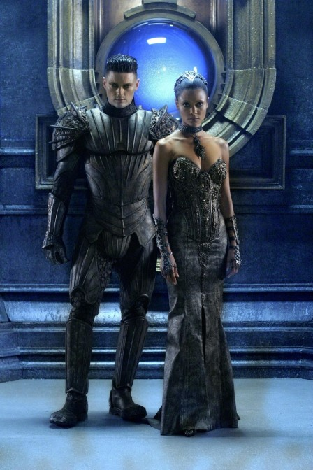 Still Of Thandie Newton And Karl Urban In The Chronicles Of Riddick Large Picture Riddick