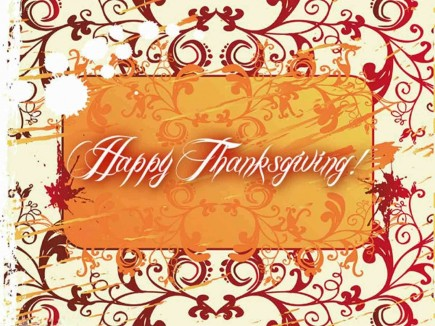 Happy Thanksgiving Greeting Card Happy