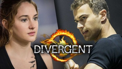 Shailene Woodley And Theo James As Leading Characters In Upcoming Movie Divergent Download Free Wallpapers Of Movies Wallpaper