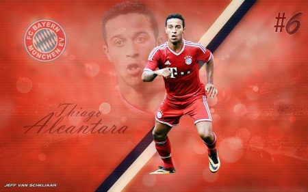 Thiago Alcantara Bayern Munich Wallpaper By Jeffery Fugji