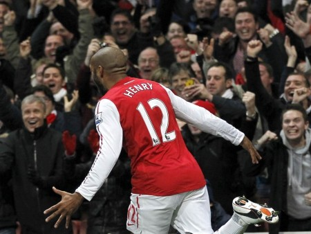 Thierry Henry Photo Arsenal Arsenal