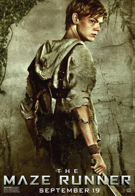 The Maze Runner Character Poster Thomas Brodie Sangster