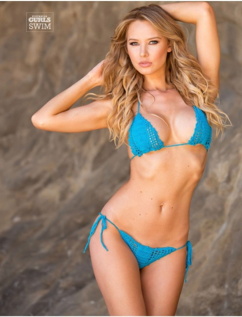 Tiffany Toth At Fitness Gurls July Kate Upton