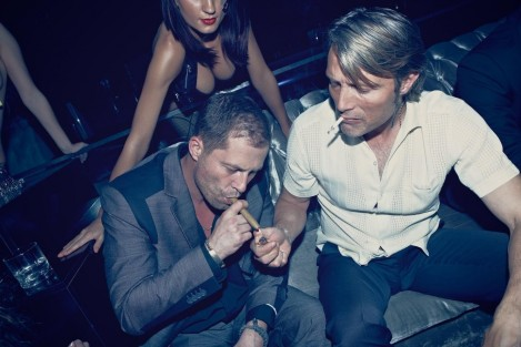 Still Of Til Schweiger And Mads Mikkelsen In The Death Of Charlie Countryman Large Picture Family
