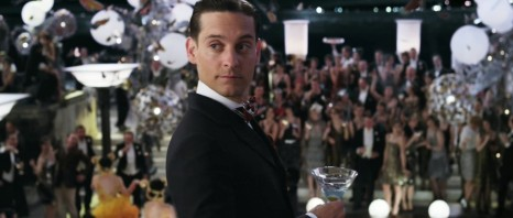 Tobey Maguire As Nick Carraway In The Great