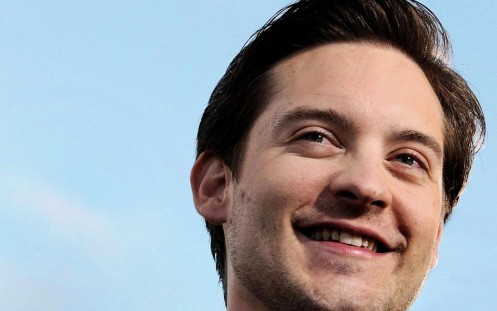 Tobey Maguire Smile Hd Pic