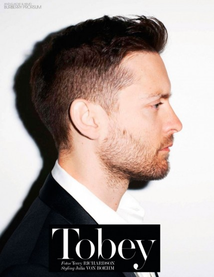 Tobey Maguire Terry Richardson Interview Germany Inside