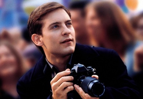 Tobey Maguire With Camera Other