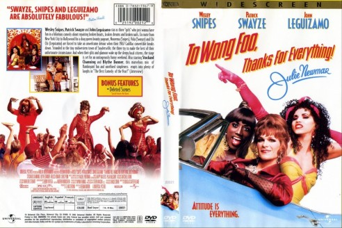 To Wong Foo Thanks For Everything Julie Newmar Cdcovers Cc Front Movie