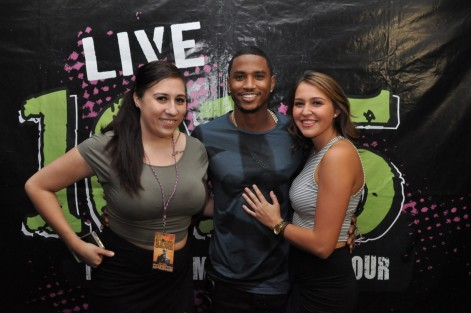 Trey Songz Meet And Greet At Back Ii School Bash