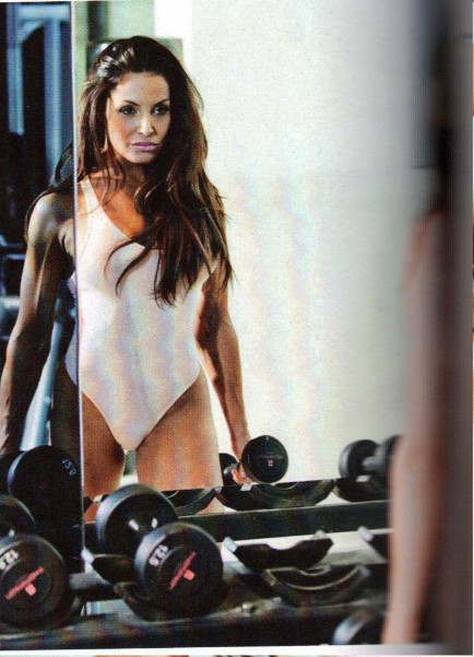 Trish Stratus In Inside Fitness Magazine July Issue