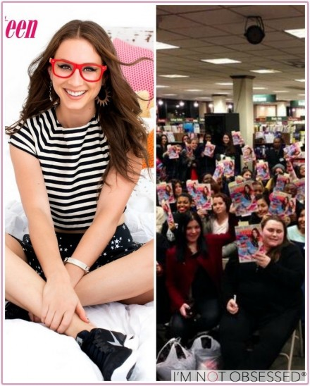 Seventeen Magazine Signing With February Cover Girl Troian Bellisario Beach