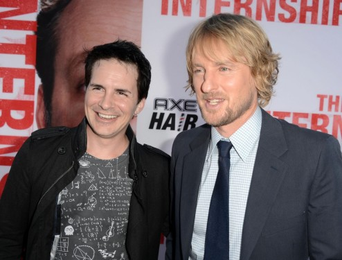 Hal Sparks And Owen Wilson In Stagiarii Large Picture