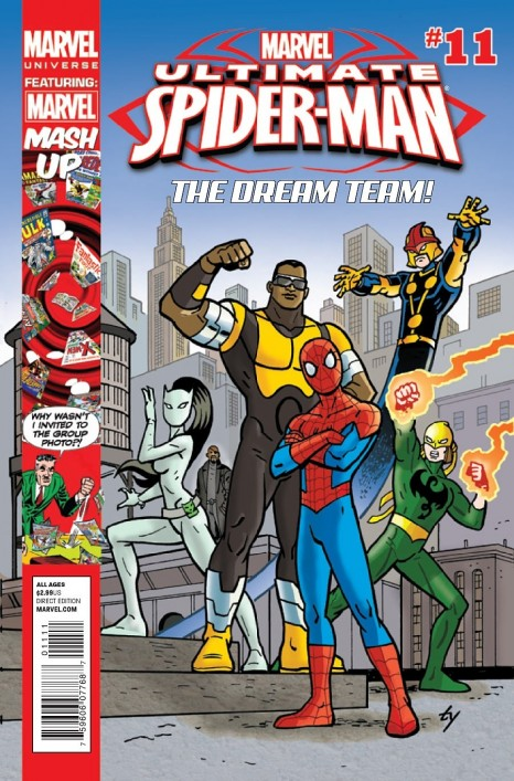 Ultimate Spider Man Cover