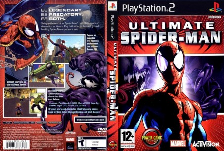 Ultimate Spiderman Dvd Ntsc Front