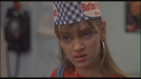 Uma Thurman As Georgia Elkans In Johnny Be Good Uma Thurman