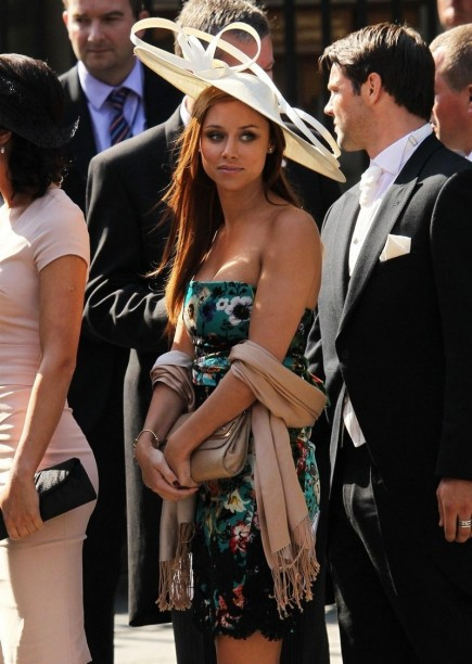 Gorgeous Una Healy At Zara Philips Wedding No Makeup