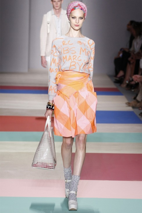 Vanessa Axente Marc By Marc Jacobs New York Fashion Week Spring Summer