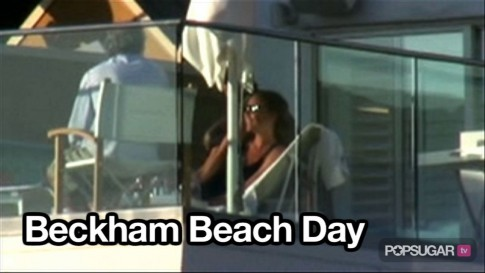 Video Victoria Beckham David Beckham Beach Santa Monica Beach