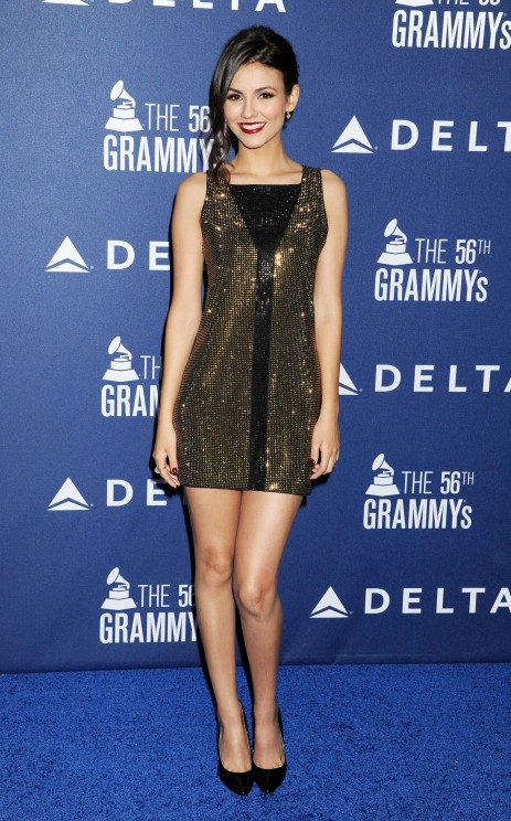 Victoria Justice Grammy Weekend Reception