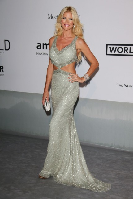 Victoria Silvstedt At Amfar St Cinema Against Aids Gala