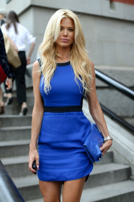 Victoria Silvstedt At Tommy Hilfiger Women Fashion Show In New York