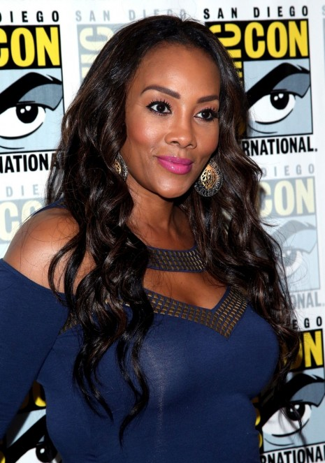 Vivica Fox At Sharkando The Second One Presentation At Comic Con In San Diego