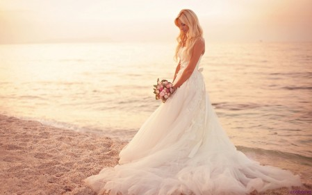White Lace Wedding Dresses Pictures Hd Wallpaper Phone