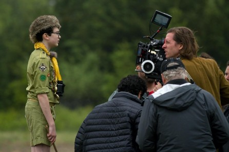 Still Of Wes Anderson And Jared Gilman In Moonrise Kingdom Large Picture Moonrise Kingdom