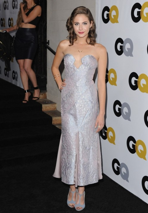 Willa Holland Gq Men Of The Year Party