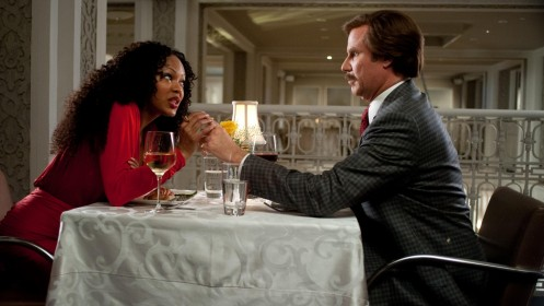 Anchorman The Legend Continues Meagan Good Will Ferrell Hot