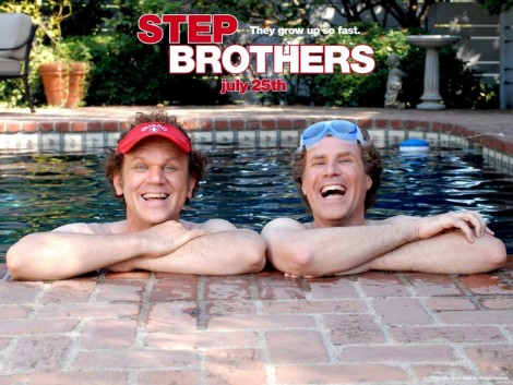 Will Ferrell And John Reilly In Step Brothers Wallpaper Wallpaper