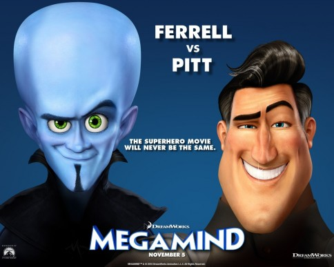 Will Ferrell In Megamind Wallpaper
