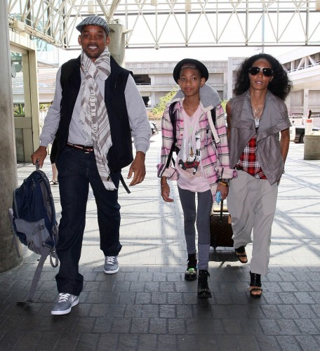 Celebs Out Airport Will Smith Jada Pinkett Willow Smith Willow Smith