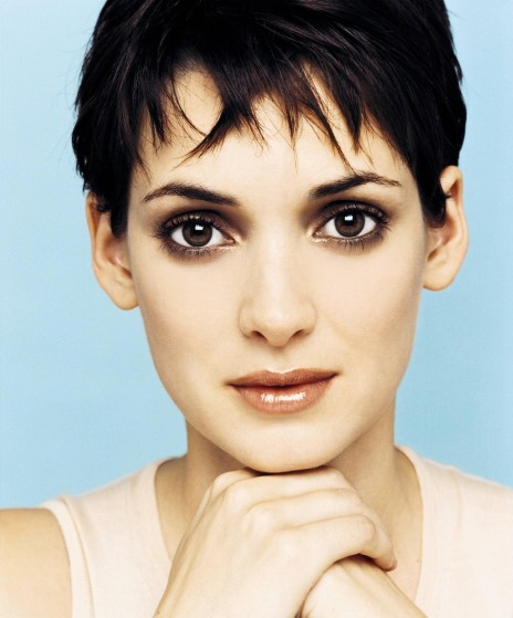 Pixie Hairstyle Winona Ryder Celebrities Wallpaper
