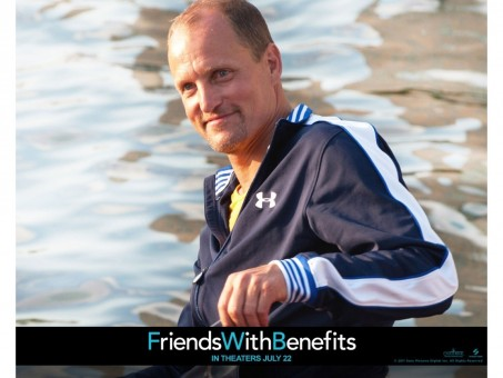Woody Harrelson In Friends With Benefits Wallpaper